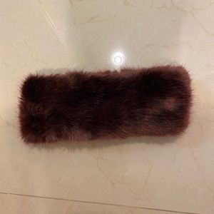 Topshop Faux Fur headwrap